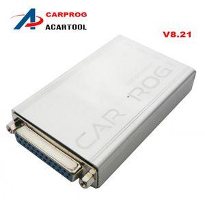 Nouvelle arrivée Carprog V8.21 outil de réparation automatique pour les radios, odomètres, tableau de bord, antidémarreurs Voiture prog mise à jour en ligne DHL livraison gratuite