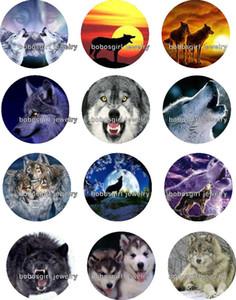 Envío gratis lobo botón a presión Charm Charm Popper para joyería de buena calidad 12 unids / lote Gl272 fabricación de joyas proveedor DIY