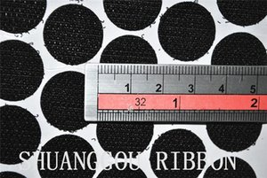 1.8cm Diameters 1000sets , Adhesive coins,Sticky Backing Fastening Dots.self adhesive round hook and loop H210923