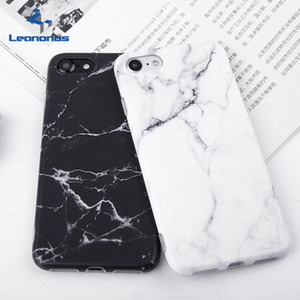 Mode imd silikon marmor phone cases für iphone 8 7 6 6 s plus ultradünne matte weiche tpu gel case protector deckt shell