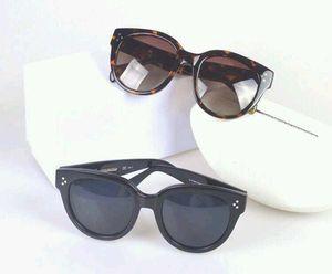 새로운 선글라스 CL41755 gafas de sol sunglass 방법 타원형 상자 선글라스 남자와 여자 태양 안경 컬러 필름 oculos 브랜드