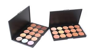 Professionnel 15 Couleurs Concealer Foundation Contour Visage Crème Maquillage Palette Pro Outil pour Salon Partie De Mariage Daily DHL gratuit