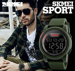 Wholesale Fashion Big Dial Men Multifunction Casual Wrist Watches 5 ATM Chrono Watches 1218