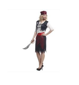 Sexy Women Pirate Costume Halloween Fancy Party Dress Carnival Perforncence alta calidad Adulto Pirata Disfraces de Cosplay