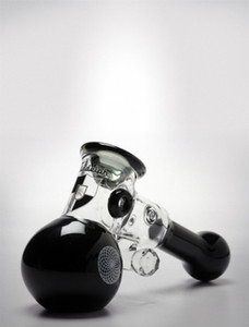 Oil burner Sherlock Mini hammer Glass pipes Heavy Wall Glass design handle spoon smoking pipe for dry herb