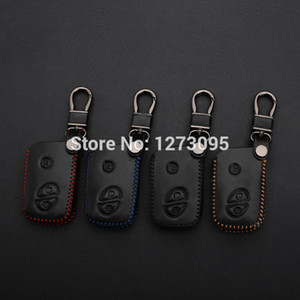 ومن ناحية مخيط خياطة الجلود مفتاح سيارة لتغطية حالة ل LEXUS LS460 LS600h LX570 GS300 GS430 RX450h RX350 اكسسوارات الرئيسية عن بعد