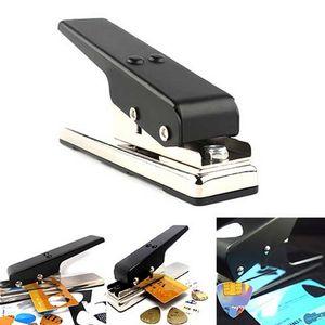 Original Black Guitar Plectrum Punch Picks Maker Card Cutter PER chitarra acustica chitarra elettrica basso strumenti musicali