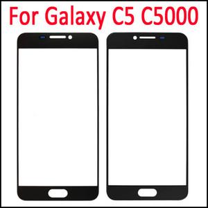 Para la cubierta del digitizador de cristal Galaxy C5 Lente de cristal de pantalla externa para Samsung Galaxy C5 C5000 Touch Glass Envío rápido rápido