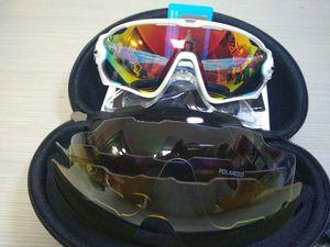 2018 16 Farben Mode Sonnenbrille mit 4 Objektiv Marke Polarisierte Jawbreaker Sonnenbrille Für Männer Frauen Sport Radfahren Fahrrad Herren Sonnenbrillen