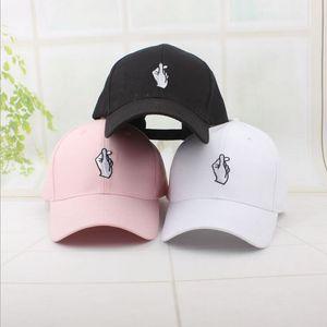 Chapeau casquette de baseball des hommes de nouvelle mode snapback casquette pour femmes amour geste hip hop