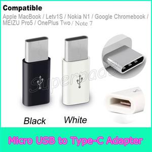 Preiswerter Typ C Micro USB 2.0 Hochgeschwindigkeits-Konverter-Adapter für Galaxy Note 7 Apple MacBook Nokia N1 MEIZU Pro5