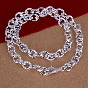 Venta caliente Camarón hebilla collar grueso hombres plata esterlina placa collar STSN100, moda 925 cadenas de plata collar venta directa de la fábrica