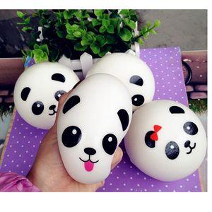 Panda Squishy Charms Kawaii Buns Bread Cell Phone Key Bag Strap Pendant Squishes #R12
