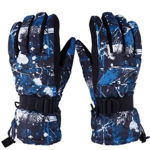 erkekler kadınlar kış kayak eldivenleri için profesyonel kafa türlü hava geçirmez termal kayak eldivenleri, Açık H-1015