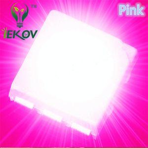 10000pcs 5050 PLCC-6 Pembe LED SMD 3.0-3.2V 800-1000mcd Yüksek kaliteli SMD / SMT Chip lamba boncuk Toptan ışık yayan diyotlar vurgulamak
