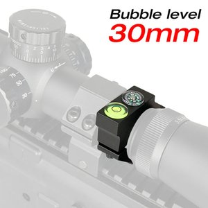New Arrival Tactical 30MM Riflescope Bubble Level 6063 Aluminum Black Color For Airsoft Free Shipping CL24-0181