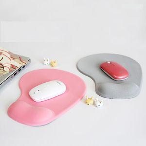 tapis de souris poignet protéger trackball optique PC épaissir soutien poignet confort tapis de souris tapis pour jeu 4 couleurs gros