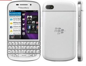 Cellulare originale Blackberry Q10 3G 4G Network 8.0MP Dual-core 1.5 GHz 2G RAM 16G ROM sbloccato Q10 rinnovato telefono cellulare