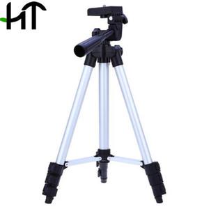 WEIFENG WT-3110A 4 Secciones portátil ligero universal del pie del trípode para la cámara Fuji Canon Sony Nikon con el bolso