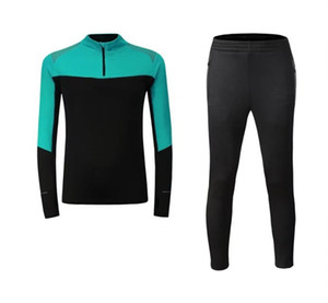 2017 new autumn winter Large size fleece suit fashion leisure sports jacket running fitness jacket suits
