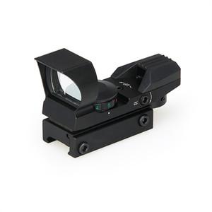 PPT Nueva llegada 4 Reticle Reddot alcance magnificación 1x rojo / verde punto para cazar cl2-0095