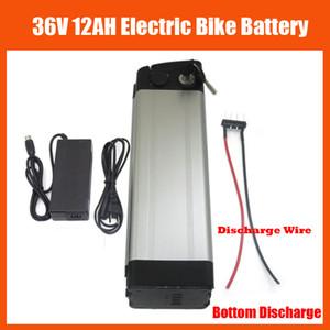 36V 12Ah 배터리 500W 36V 12Ah 전기 자전거 배터리 팩 42V 2A 충전기 및 15A BMS 하단 배출