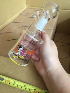 Gaiola de pássaro Heady favo de mel Perc Bong 14mm Jiont Reciclador De Vidro Bubbler Bongos de Água com Banger Tubulações De Água Rigs Oil Dab