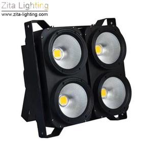 Zita Iluminação LED Blinder Luzes 4X100 W Matrix COB Audiência Luzes de Fundo Estúdio de Iluminação de Palco Par Fixture DMX Teatro DJ Disco Efeito