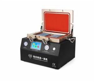 NEUE und gute Preis 2 in 1 OCA Laminiermaschine mit entfernen Bubbler Eingebaute Pumpe und Kompressor Unterstützung Max 12 zoll LCD ersatzteile
