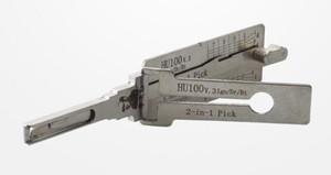 LISHI HU100 قارئ اختيار وفك تشفير تلقائي 2 في 1 من أجل أدوات اختيار قفل الأقفال Opel / Buick / Chevy
