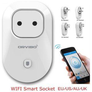 Orvibo S20 EU / AU / UK / US WiFi Smart Switch Intelligente Steckdose Für IOS Android Smartphone Fernbedienung PK Mi Smart Socket