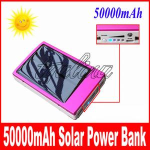 Оптовая полная мощность банк 50000mah аварийного питания / портативный + высокая емкость 50000 мАч солнечное зарядное устройство бесплатная доставка быстрая доставка на дом