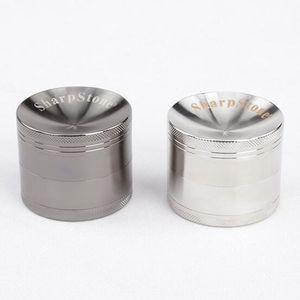 Shap Stone Herb Grinder 4 Layer Concave Bowl Cover 40mm 50mm 55mm 63mm Mental Tobacco Grinders 2016 Wholesale Grinder