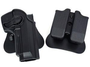 fondina per pistola tattica porta caricatore molle per pistola difesa e fondina per caricatore per M92 Airsoft (ht027)