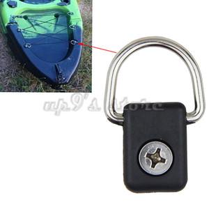anillo 10PCS D para kayak barco canoa ajuste de acero inoxidable