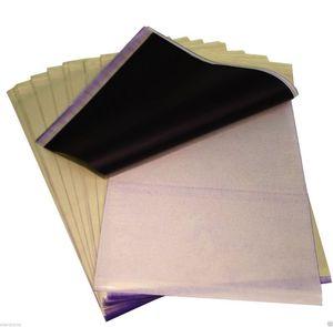 BaseKey 100 Sheets x Tattoo Thermal Carbon Stencil Transfer Paper Tracing Kit A4