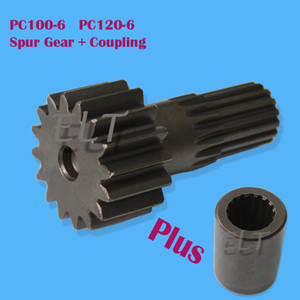 Final Drive Coupling + Spur Gear Kit TZ269B1015-00 TZ270B1006-00 TZ264B1107-00 for GM18 Travel Motor Fit PC100-6 PC120-6 Excavator