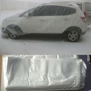 car covers elastic clear plastic Universal waterproof anti-dust