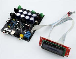 Freeshipping decodificador bordo AK4490 AD827 LT1963EQ-3.3 AK4118 suave placa de control DAC decodificador de soporte de la placa USB Fibra Coaxial