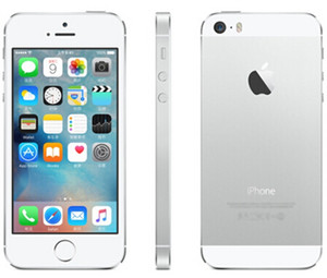 iPhone 5S Refurbished Like New 100% Original Apple iPhone Unlocked with fingerprint 16G IOS Dual Core 4.0 inch Cell Phones DHL free