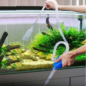 Colorato Acquario Pulito Vacuum Change Change Changer Pulitore per sassi Fish Tank Sifone
