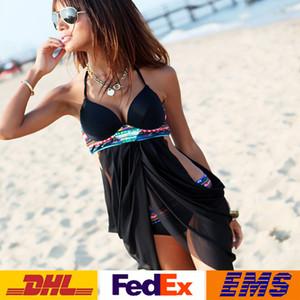 DHL Mulheres Bandage Bikini Set Push-up Acolchoado Sutiã Maiô Conjuntos de Banho Swimwear Two Piece Swimdress Praia Verão SPA de Banho WX-S12