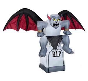 Cadılar Bayramı kutlamak için şişme Halloween dekorasyon korkunç şişme vampir yarasa