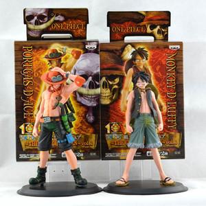 16 cm One Piece Figure Ace Luffy Figura de Acción de Colección Figura de Anime Japonés PVC Figuras de Dibujos Animados Juguetes Juguetes