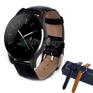 K88H Akıllı İzle IPS Tam Ekran Desteği Kalp Hızı Monitörü Bluetooth IOS Android Için Saatler Pedometre Uzaktan Camere Smartwatch Dial