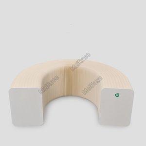 H42cm х L300cm инноваций Мебель Pop - Smart Bench Крытый Универсальный водонепроницаемый Аккордеон Стиль Крафт Портативный диван для 6 мест 71-1042