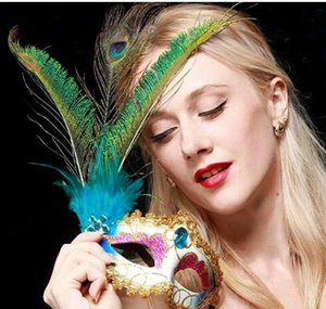 NEW Free Shipping Fashion Trend Personality Masquerade Feather Mask High Quality Party Mask For The Adult Party