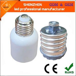 E26 E27 램프 E27 램프 어댑터 컨버터 E39 E40 옥수수 거리 조명 소켓에 새로운 LED 할로겐 CFL 전구 E40를 기지