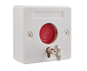 Small alarm NC NO options panic button plastic switch use for alarm system emergency swtich fire emergency button emer