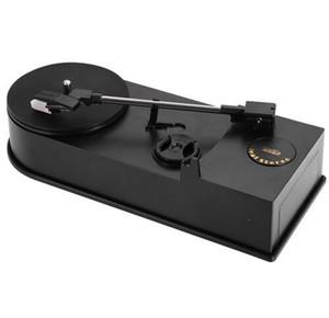 EC008B, USB мини Фонограф/ проигрыватель/ винил вертушки аудио плеер, поддержка проигрыватель преобразование LP запись на CD или функцией MP3